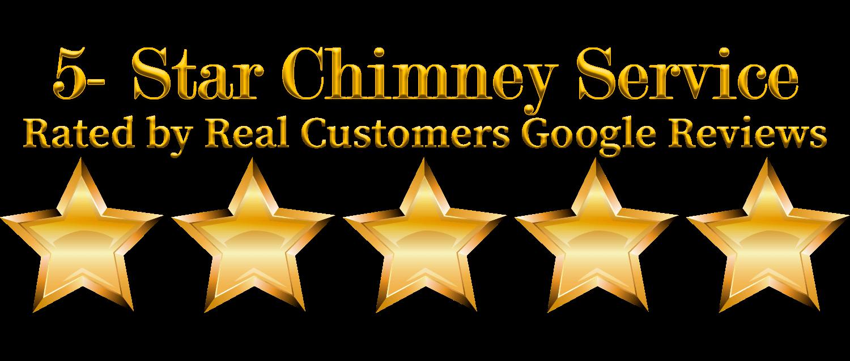 A Chimney Keeper 5 Star Ranking